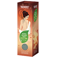 YURIMOTO NATURAL ANTI-ACNE EFFECT BEAUTY TOWEL CREEN TEA TYPE